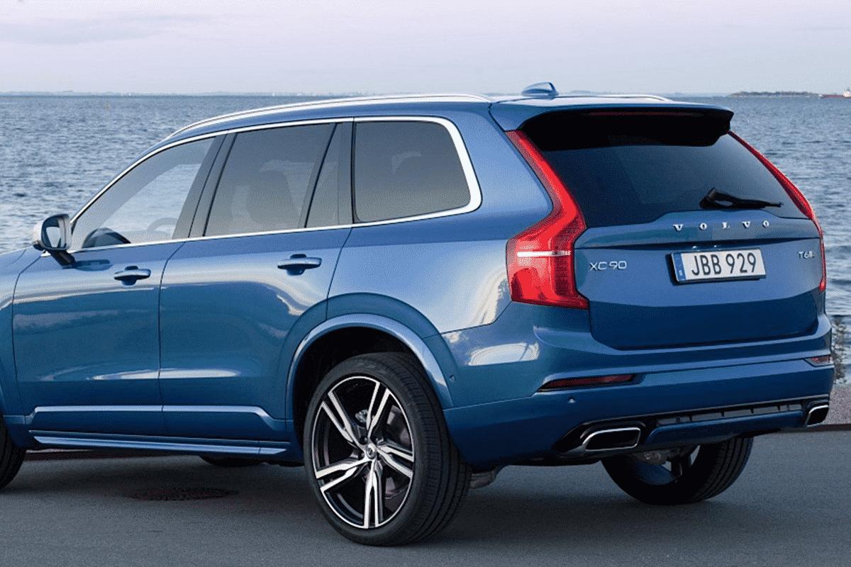 Hyr Volvo XC90 billigt hos Franz J Biluthyrning