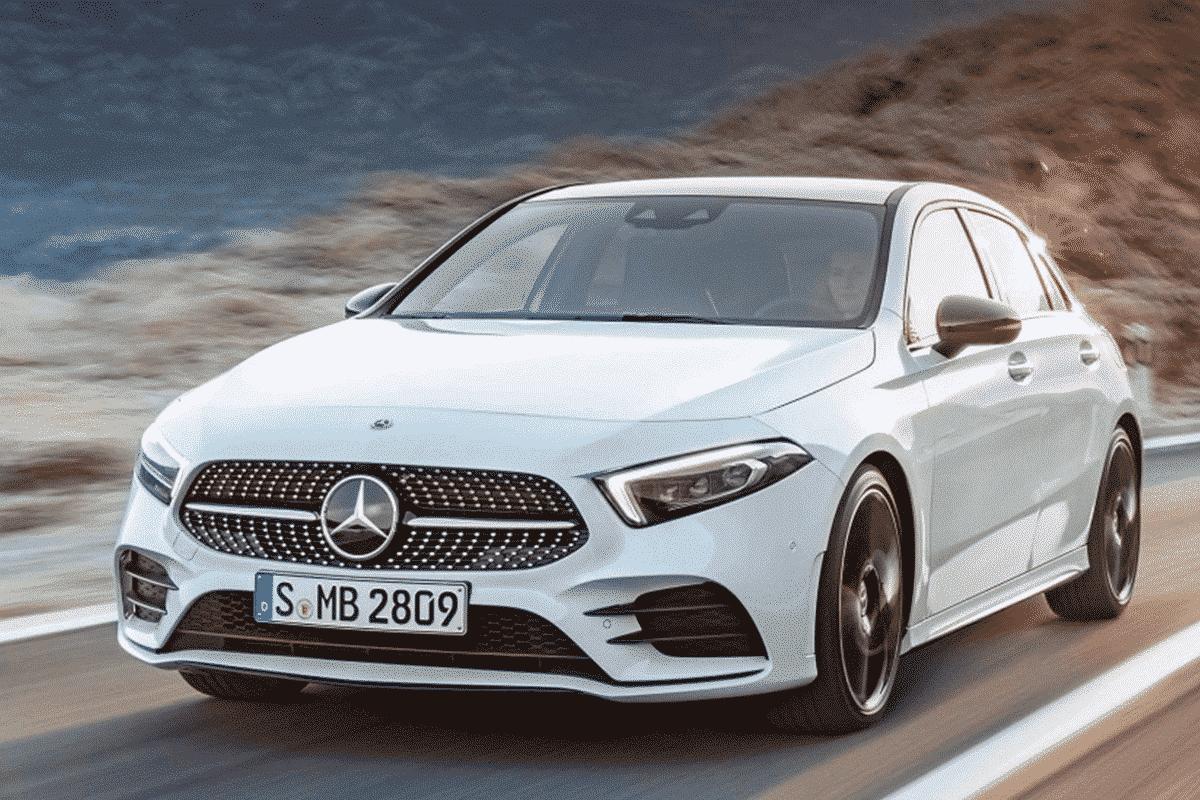 Hyr Mercedes-Benz A-klass hos Franz J Biluthyrning