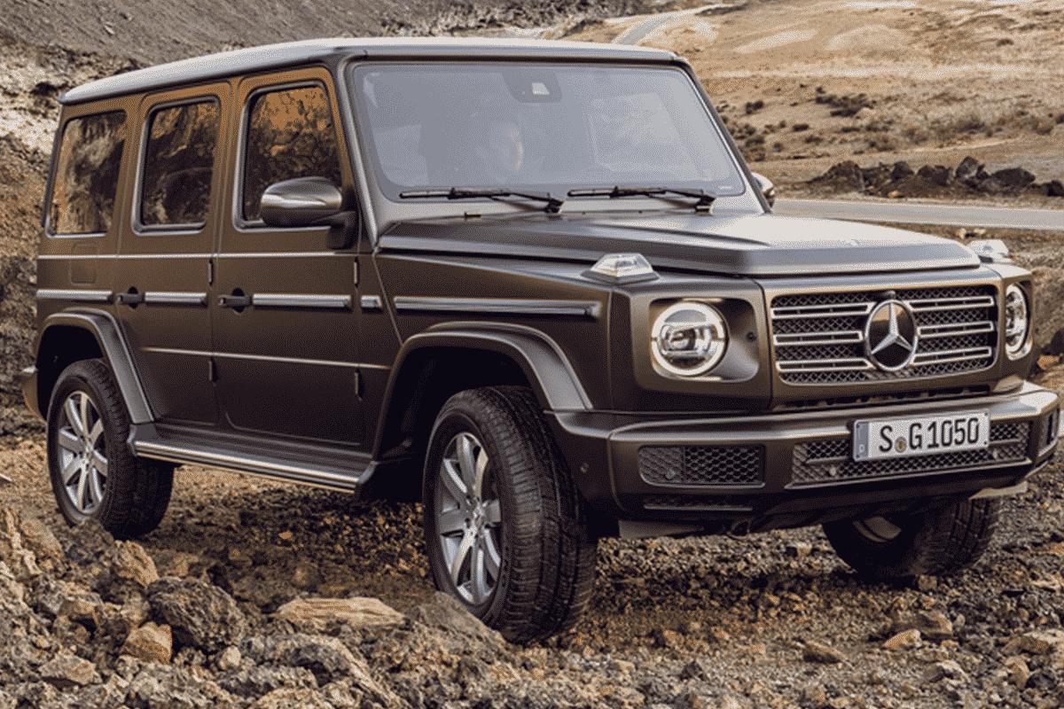 Hyr Mercedes-Benz G-klass hos Franz J Biluthyrning