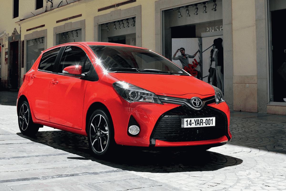 Hyr Toyota Yaris hos Franz J Biluthyrning
