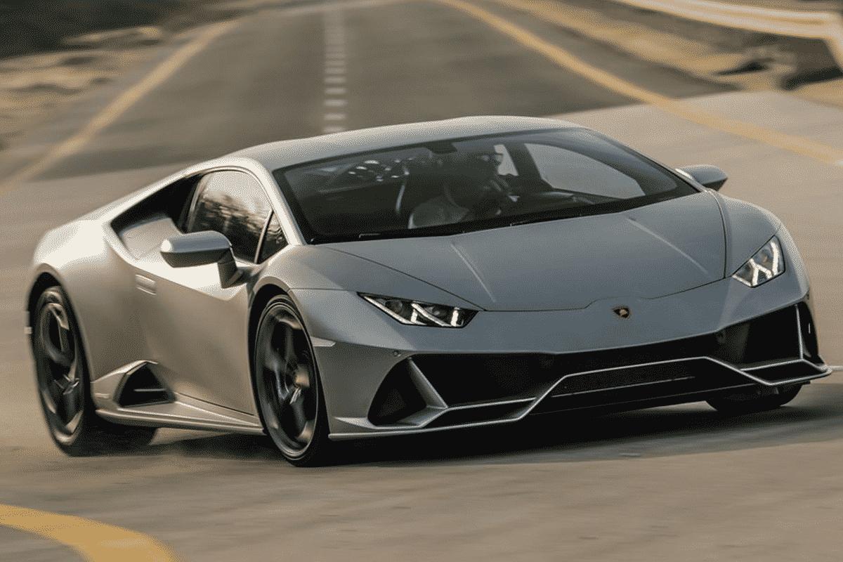Hyr Lamborghini Huracan hos Franz J Biluthyrning